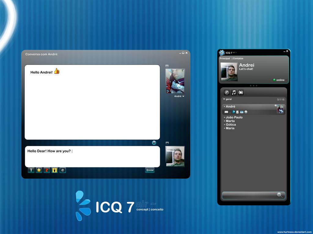 ICQ v7.0 Freeware / Русский скачать торрент бесплатно.
